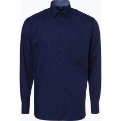 Eterna Modern Fit - Koszula męska niewymagająca prasowania, niebieski. Niebieskie koszule męskie na spinki Eterna Modern Fit, m, z bawełny. Za 149,99 zł.