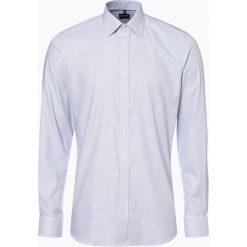 Olymp Level Five - Koszula męska niewymagająca prasowania, niebieski. Niebieskie koszule męskie non-iron marki OLYMP Level Five, m, w kropki. Za 149,95 zł.
