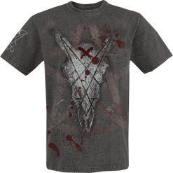 T-shirty męskie z nadrukiem: Alchemy England Marked For Death T-Shirt ciemnoszary (Anthracite)