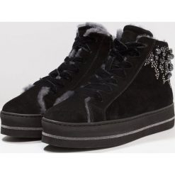 Botki damskie lity: Maripé Ankle boot nero