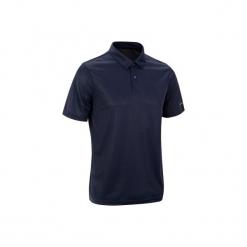 Koszulka polo tenisowa Dry 100 męska. Niebieskie koszulki polo ARTENGO, m, z materiału. Za 19,99 zł.