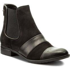 Sztyblety CARINII - S4179 E50-360-POL-769. Czarne buty zimowe damskie Carinii, z materiału. W wyprzedaży za 179,00 zł.