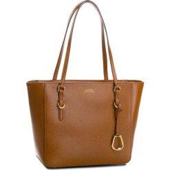 Torebka LAUREN RALPH LAUREN - Bennington 431687508002 Brown. Brązowe torebki klasyczne damskie Lauren Ralph Lauren, ze skóry. Za 999,90 zł.