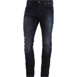 GStar 3301 SLIM Jeansy Slim Fit siro black stretch denim. Czerwone jeansy męskie relaxed fit marki G-Star, l, z napisami. Za 559,00 zł.