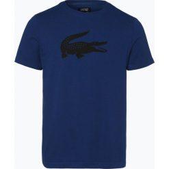Lacoste - T-shirt męski, niebieski. Szare t-shirty męskie marki Lacoste, z bawełny. Za 129,95 zł.