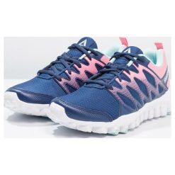 Buty sportowe damskie: Reebok REALFLEX TRAIN 4.0 Obuwie treningowe washed blue/blue/pink