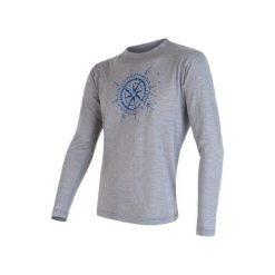 Odzież termoaktywna męska: Sensor Koszulka Z Długim Rękawem Merino Wool Pt Kompas M Grey Xl