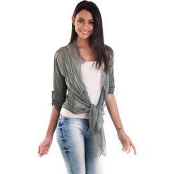 Kardigany damskie: Kardigan w kolorze khaki