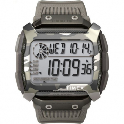 Timex - Zegarek TW5M18300. Szare, cyfrowe zegarki męskie Timex. Za 449,90 zł.
