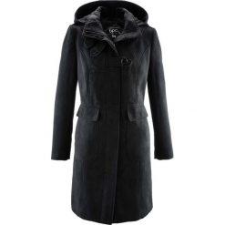 Płaszcz bonprix czarny. Czarne płaszcze damskie pastelowe bonprix. Za 239,99 zł.