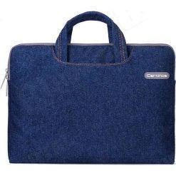 Torba Cartinoe Stylowa torba na laptopa 13,3 cala Cartinoe Jean Series niebieski jeans. Niebieskie torby na laptopa Cartinoe, z jeansu. Za 71,07 zł.