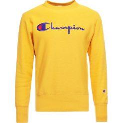 Champion Reverse Weave CREWNECK  Bluza cuy. Żółte bluzy męskie Champion Reverse Weave, m, z bawełny. Za 359,00 zł.