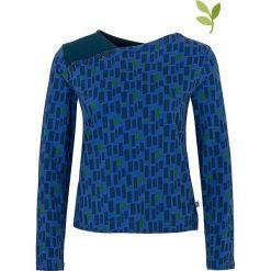 """Bluzki asymetryczne: Koszulka """"Menga"""" w kolorze niebieskim"""