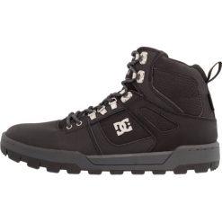Botki męskie: DC Shoes SPARTAN HIGH WR BOOT Botki sznurowane black