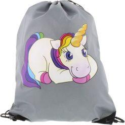 Torebki i plecaki damskie: Jednorożec Unicorn Torba treningowa szary