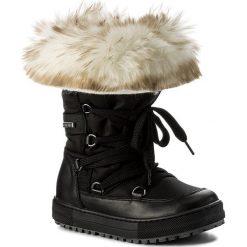 Kozaki dziewczęce: Śniegowce NATURINO – Avila 0013501193.03.9121 Vitello/Tecno/Fur Nero/Avorio S