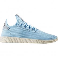 """Buty adidas x Pharrell Williams Tennis Hu """"Icey Blue"""" (CP9764). Czarne halówki męskie marki Adidas, z kauczuku. Za 169,99 zł."""