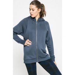 Nike Sportswear - Bluza. Szare bluzy rozpinane damskie Nike Sportswear, m, z bawełny, z kapturem. W wyprzedaży za 179,90 zł.