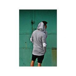 Swetry rozpinane męskie: CARDIGAN BUTTON CHUNKY kolory łaty