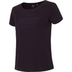 T-shirt damski TSD236 - czarny - 4F. Czarne t-shirty męskie 4f, m, z nadrukiem, z bawełny. Za 39,99 zł.