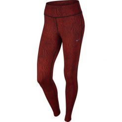 Legginsy sportowe damskie: Nike Legginsy Zen Epic Run Tight czerwony r. L (719815 696)