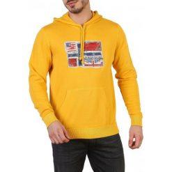 Napapijri Bluza Męska M Żółta. Niebieskie bluzy męskie rozpinane marki Oakley, na lato, z bawełny, eleganckie. Za 435,00 zł.