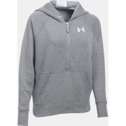 Bluzy sportowe damskie: Under Armour Bluza damska Favorite Fleece 1/2 Zip szara r.XS (1298416-025)