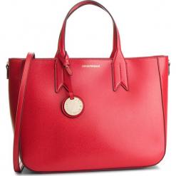 Torebka EMPORIO ARMANI - Y3D082 YH15A 88158 Red/Black. Czerwone torebki klasyczne damskie Emporio Armani, ze skóry ekologicznej, duże. Za 899,00 zł.