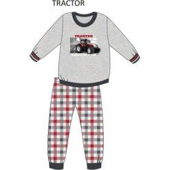 Bielizna chłopięca: Piżama Kids Boy 593/71 Tractor melanż szary r. 104