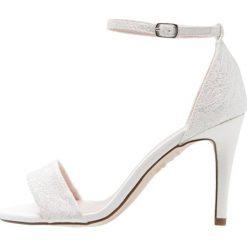 Sandały damskie: New Look VOWEL Sandały na obcasie offwhite