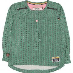 """Bluzka """"Glass Eyes"""" w kolorze zielonym. Zielone bluzki dziewczęce marki 4FunkyFlavours Kids, z okrągłym kołnierzem. W wyprzedaży za 102,95 zł."""