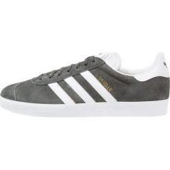 Adidas Originals GAZELLE Tenisówki i Trampki solid grey/white/gold metallic. Szare tenisówki męskie marki adidas Originals, z gumy. Za 399,00 zł.