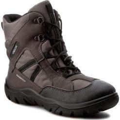 Buty zimowe chłopięce: Śniegowce GEOX – J Forsty B.Wpf B J64D7B 0FUAU C0062  Dk Grey/Black