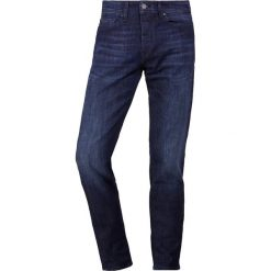 BOSS CASUAL TABER  Jeansy Slim Fit navy. Niebieskie jeansy męskie relaxed fit marki BOSS Casual. Za 499,00 zł.