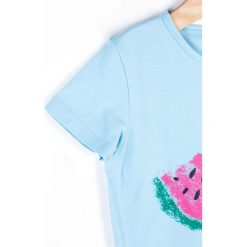 Coccodrillo - Top dziecięcy 122-146 cm. Białe bluzki dziewczęce marki COCCODRILLO, m, z bawełny, z okrągłym kołnierzem. Za 35,90 zł.