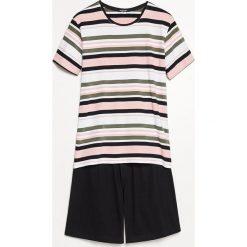 Piżama z szortami - Różowy. Czerwone piżamy męskie marki Reserved, l. Za 69,99 zł.