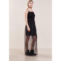 Długie sukienki: Tresophie DELFINA Długa sukienka black