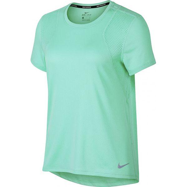 Nike W Run Top SS Tee 890353 349 zielone XS