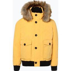 Nils Sundström - Męska kurtka puchowa, żółty. Żółte kurtki męskie puchowe marki ATORKA, xs, z elastanu. Za 599,95 zł.