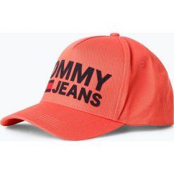 Czapki damskie: Tommy Jeans - Damska czapka z daszkiem, czerwony