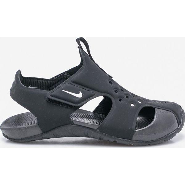 21f5a4dc Nike Kids - Sandały dziecięce. - Czarne sandały męskie Nike Kids, z ...