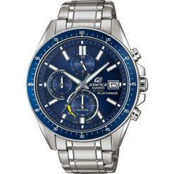 Biżuteria i zegarki męskie: Zegarek Casio Męski EFS-S510D-2AV Edifice Chrono srebrny