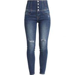 Miss Sixty LEWIN TROUSERS Jeans Skinny Fit blue denim. Niebieskie jeansy damskie Miss Sixty. W wyprzedaży za 401,40 zł.
