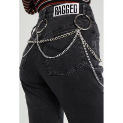 The Ragged Priest BOLT Jeansy Slim fit charcoal. Czarne rurki damskie The Ragged Priest. W wyprzedaży za 287,20 zł.
