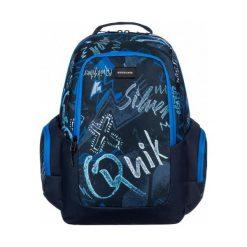 Quiksilver Schoolie M Dark Denim Thunderb. Niebieskie plecaki męskie Quiksilver, z denimu. W wyprzedaży za 149,00 zł.