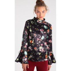 Bluzki asymetryczne: NORR CLARA Bluzka black