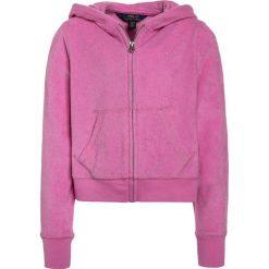 Polo Ralph Lauren HOODIE Bluza rozpinana hammond pink. Czerwone bluzy dziewczęce Polo Ralph Lauren, z bawełny. Za 229,00 zł.