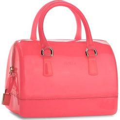 Torebka FURLA - Candy 884546 B BAS8 PL0 Rodonite Fluo. Czerwone kuferki damskie Furla, z tworzywa sztucznego, duże. W wyprzedaży za 479,00 zł.