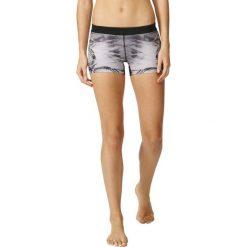 Spodenki sportowe męskie: Adidas Spodenki Techfit Short Tight 3 inch WOW Print szary r. M (S94474)