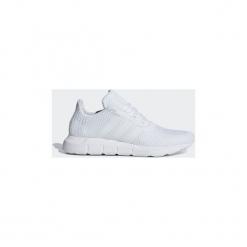 Buty do biegania Dziecko adidas  Buty Swift Run. Białe buty sportowe dziewczęce marki Born2be, z materiału, na sznurówki. Za 269,00 zł.